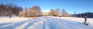 Hibernating during the winter, Nissbacka is beautiful even when temperatures drop below zero.