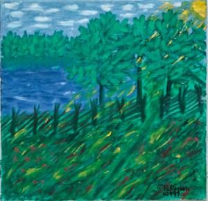 aAuringonlasku niityllä (1989)